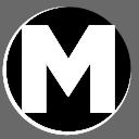 Mario Saverin Logo Website - M - White No BG